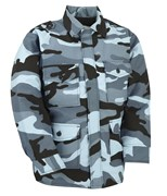 Kid Combat Jacket Midnight Camo
