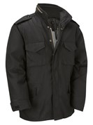 M65 Military Field Jacket- Black