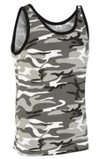 100% Cotton Basic Urban Camo Vest Top Unisex