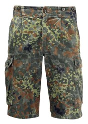 German Combat Shorts Flecktarn Camo
