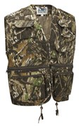 Camo Multi-Pocket Fishing Vest Tree Bank
