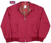 Classic Harrington Jacket Maroon