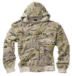 Delta MTP Camouflage Zipped Hoodie