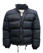 Down Filled Puffa Jacket Black