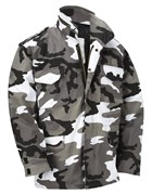 M65 Military Field Jacket- Urban Camo