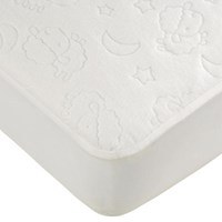 Goldbug - Travel Cot Water Resistant Mattress protector (Embossed Sheep)