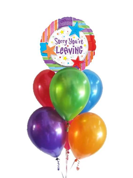 Sorry You Re Leaving Balloon Bouquet Gifts In The Hills