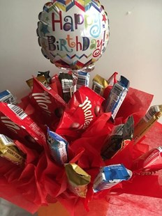 Happy Birthday Edible Bouquet