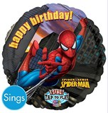Spiderman Singing 71cm Balloon