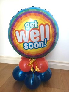 Table Top Get Well Balloon