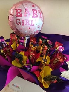 New Baby Edible Bouquet