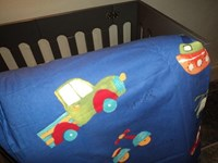 transport design cot-bed and single duvet sets SPECIAL OFFER