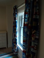 Planes trains and automobiles design curtains
