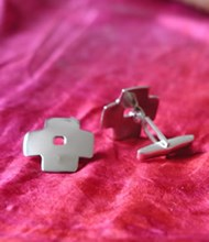 cross cufflinks