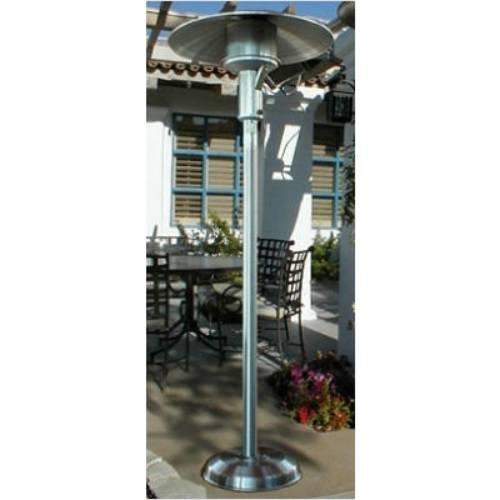 Sunglo A242SS Portable Stainless Steel Patio Heater Natural Gas - Sunglo A242SS Portable Stainless Steel Patio Heater Natural Gas