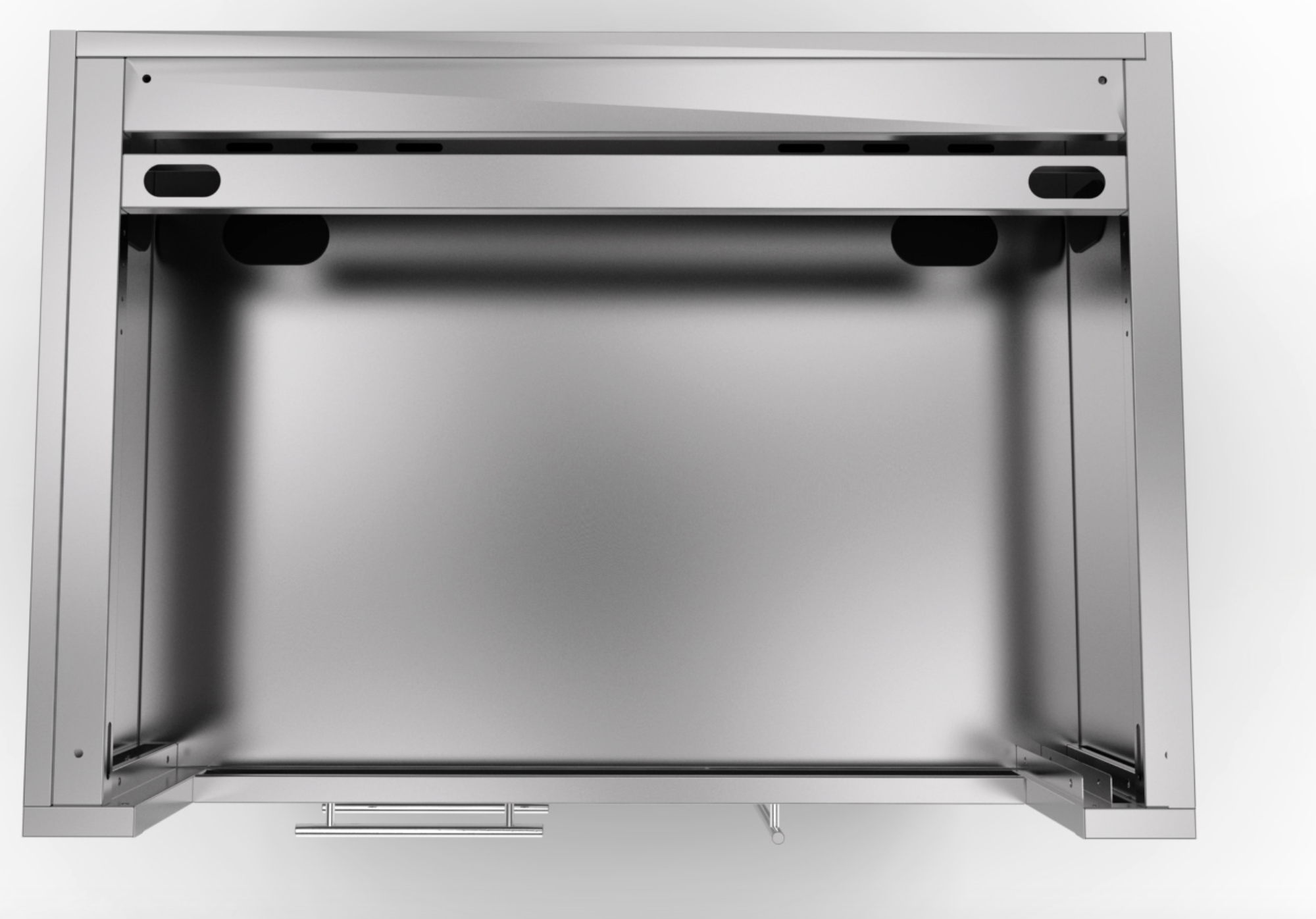 Sunstone 40 inch gas grill base cabinet sac40glpcd for 40 inch kitchen cabinets