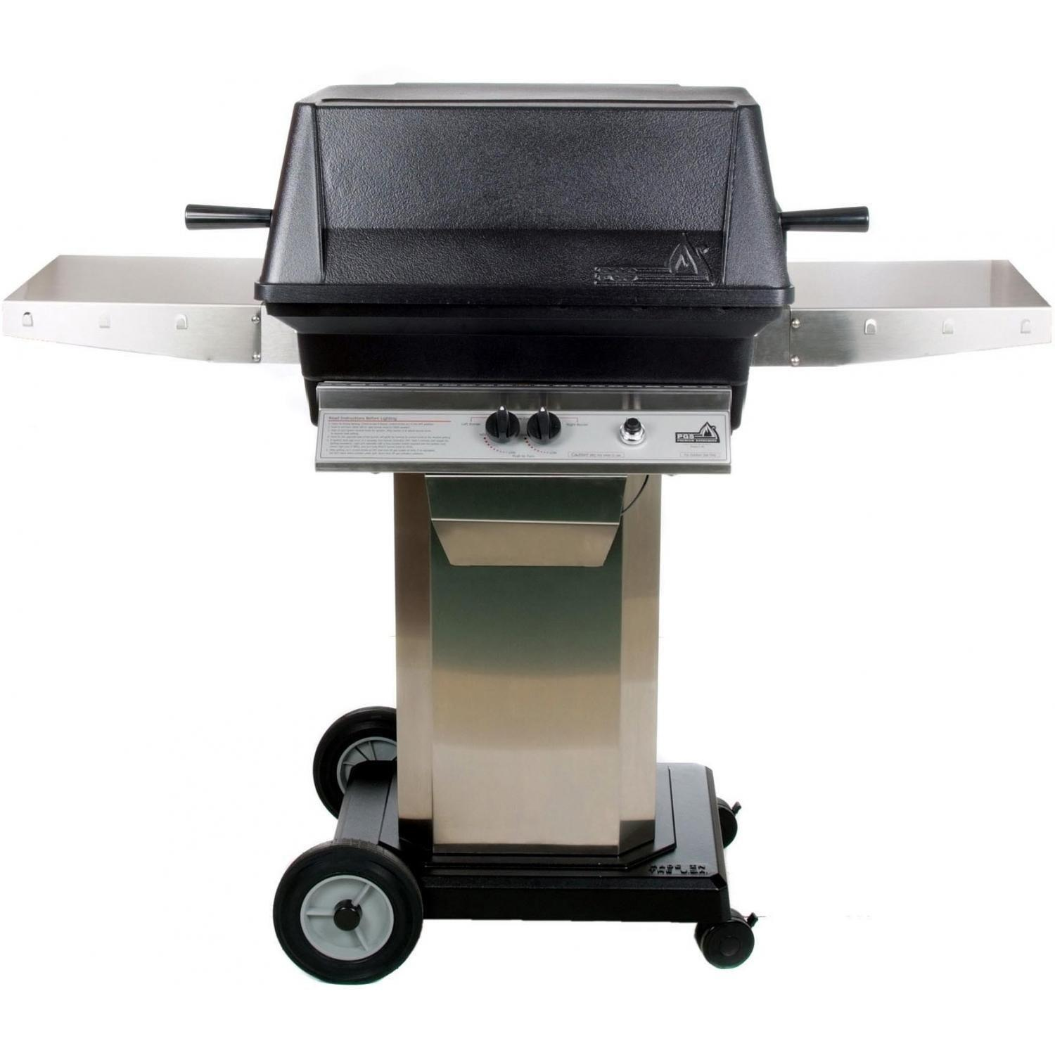Pgs a cast aluminum propane gas grill stainless steel