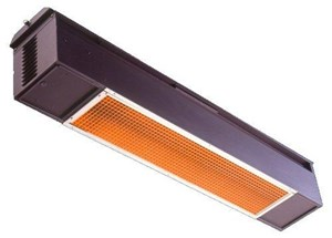 Sunpak S25 Natural Gas Infrared Patio Heater Black Cover
