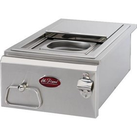 Cal Flame 12 in. Built-in BBQ Stainless Steel Cocktail Center