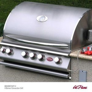 Cal Flame 4-Burner Convection 32 inch Grill with Rotisserie BBQ13874CP