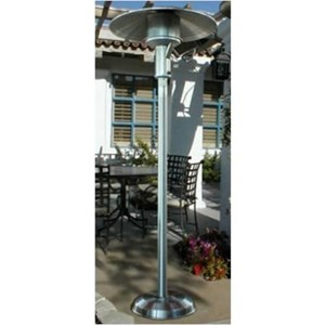 Sunglo A242SS Portable Stainless Steel Patio Heater Natural Gas