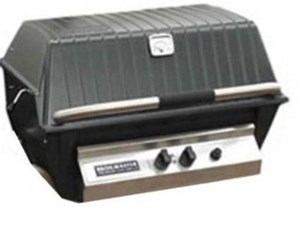 BROILMASTER PREMIUM GAS GRILL HEAD w/Charmaster Briquets, Natural Gas P3XN