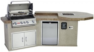 Bull - Western Q - Outdoor Island Kitchen 31069