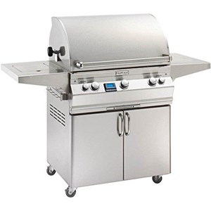 Fire Magic Aurora A660s on Cart Natural Gas Bbq Grill with 1 infrared burner- A660s-5L1n-62