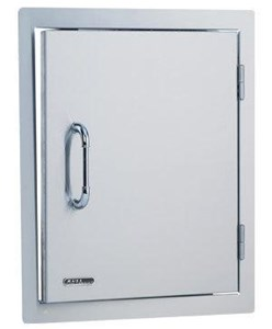 BULL Stainless Steel Single Vertical Door
