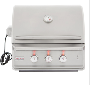 Blaze Professional 27-Inch 2 Burner Built-In Gas Grill With Rear Infrared Burner BLZ-2PRO