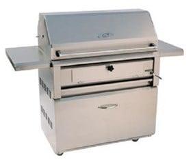Luxor 42 Inch Free Standing Charcoal Grill AHT-42-CHAR-F
