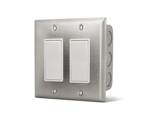 Infratech Dual On/Off Switch  (In Wall) For Electric Heater  14-4405