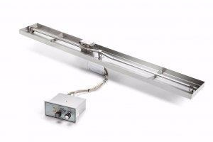HPC Interlink Linear Flat Pan – Push Button / Flame Sensing - FPPK61X8-L-FLEX