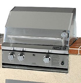 ProFire Professional Series 27-Inch Built-In  Gas Grill With  SearMagic Grids - PFSM27G