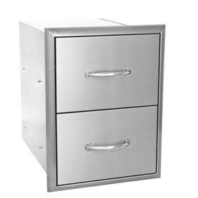 "Blaze 16"" Double Access Drawers"