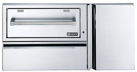 "LYNX PROFESSIONAL 42"" Convenience Center with Warming Drawer L42CC-1"