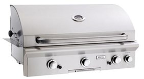 """AMERICAN OUTDOOR GRILL(AOG) 36"""" Built In Grill  w/Backburner & Rotisrie """"T"""" Series  36PBT   - Liquid Propane"""
