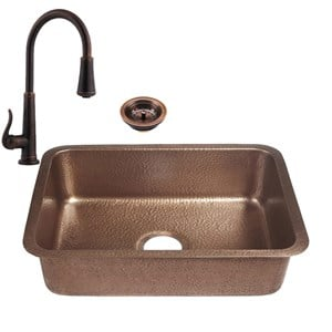 RCS  COPPER UNDERMOUNT SINK AND FAUCET - RSNK4  NEW 2018 MODEL