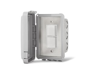 Infratech On/Off Switch Single- Duplex/Stack (Surface Mount) With Weatherproof Box  For Electric Heater  14-4320