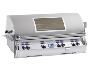 Fire Magic 50 inch Echelon Diamond E1060i-4LAN-W BUILT IN GRILL with 1 infrared burner & magic view window