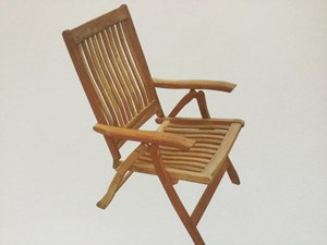 ROYAL TEAK COLLECTION Teak Estate Chair Model# ESFC