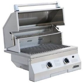 "Solaire 27"" Deluxe Infrared Natural Gas Built-In Grill, Stainless Steel SOL-IRBQ-27GIRXL"