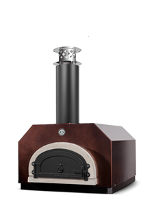 Chicago Brick Oven CBO-500 Countertop Outdoor Wood Fired Pizza Oven - Copper Vein