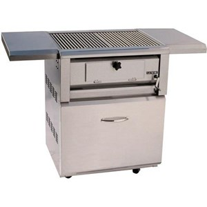Luxor 30 Inch Free Standing Charcoal Grill AHT-30-CHAR-F-OT