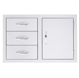 SUMMERSET 3-DRAWER/DOOR COMBO SSDC-3