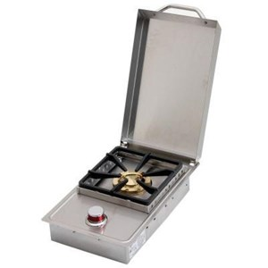 Cal Flame 11 In. Single Flat Side Burner