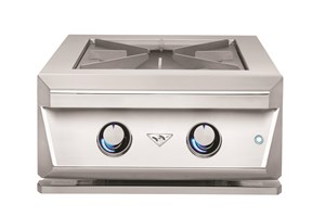 Twin Eagles 24 Inch Power Burner with Heavy Duty Grate TEPB24HG-C