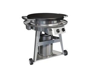 EVO Professional Classic Gas-Fired Flattop Grill With Wheeled Cart 10-0002-NG