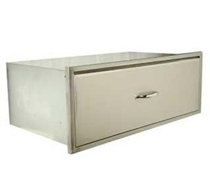 Luxor Medallion 30-Inch Extra Large Single Storage Drawer - AHT-M-1D-30