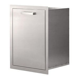 STG Excalibur Standard Stainless Steel Trash Drawer STGS-TD